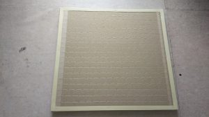 縁なし畳の床の寸法調整