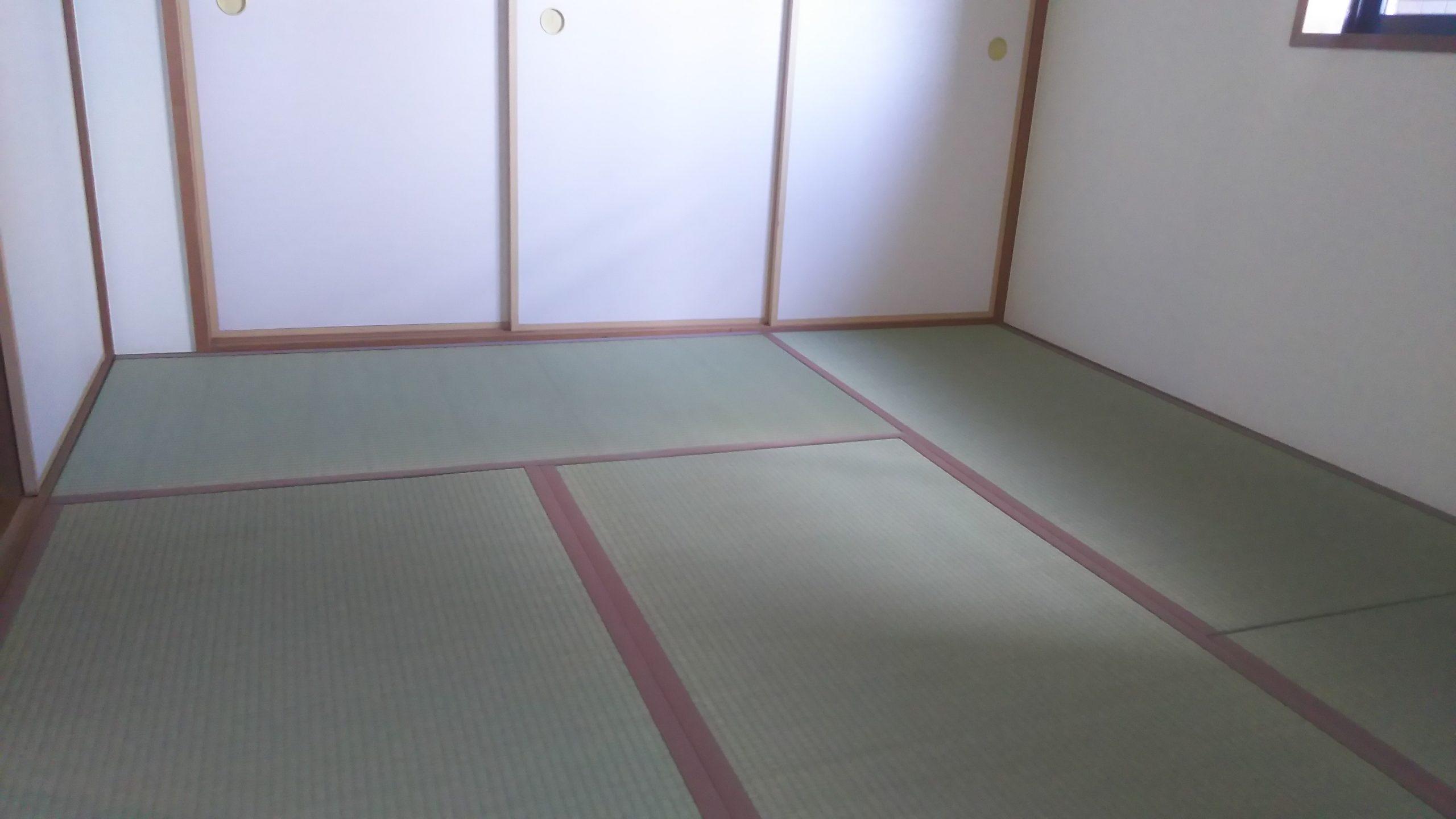 大阪市福島区のマンションの畳の張替え