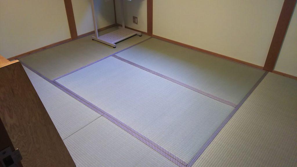 国産糸引の畳表