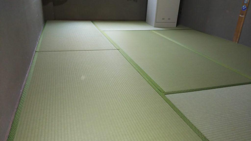川西市の寮に、畳の新調を納品させていただきました。みやび