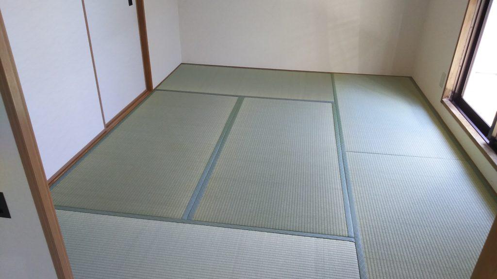 茨木市のマンションの畳の張替えも承っています。