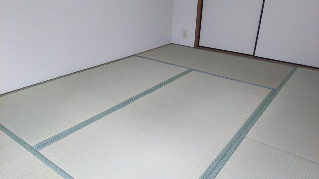 宝塚市のマンションの畳の張替えをさせていだだきました。