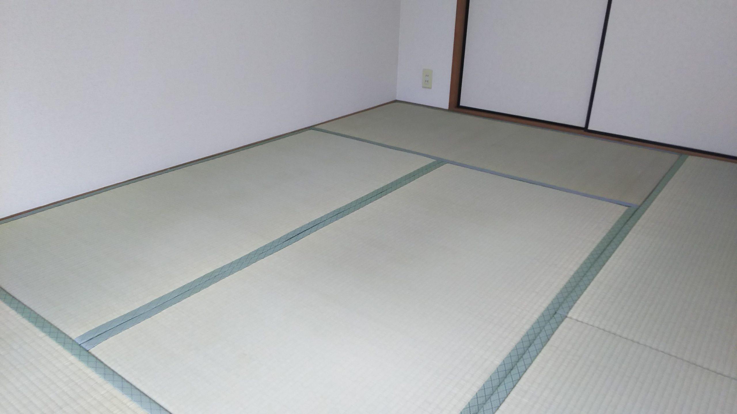 20201226 宝塚市 マンション 畳 襖 張替