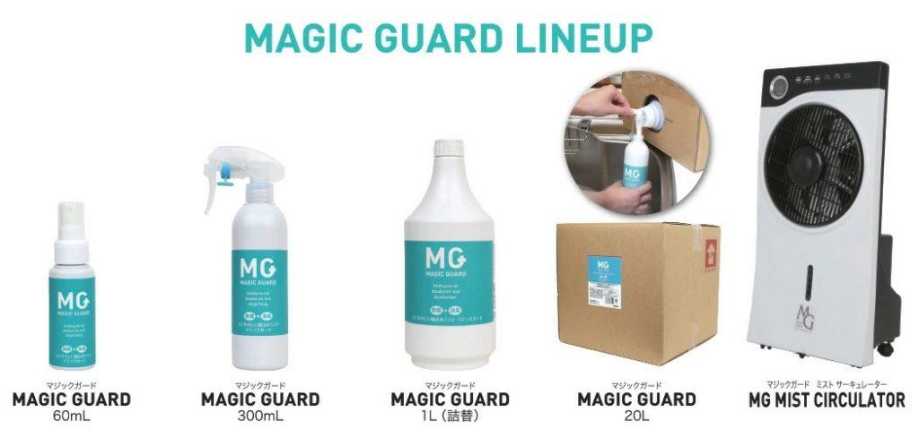 MAGIC GUARD LINEUP