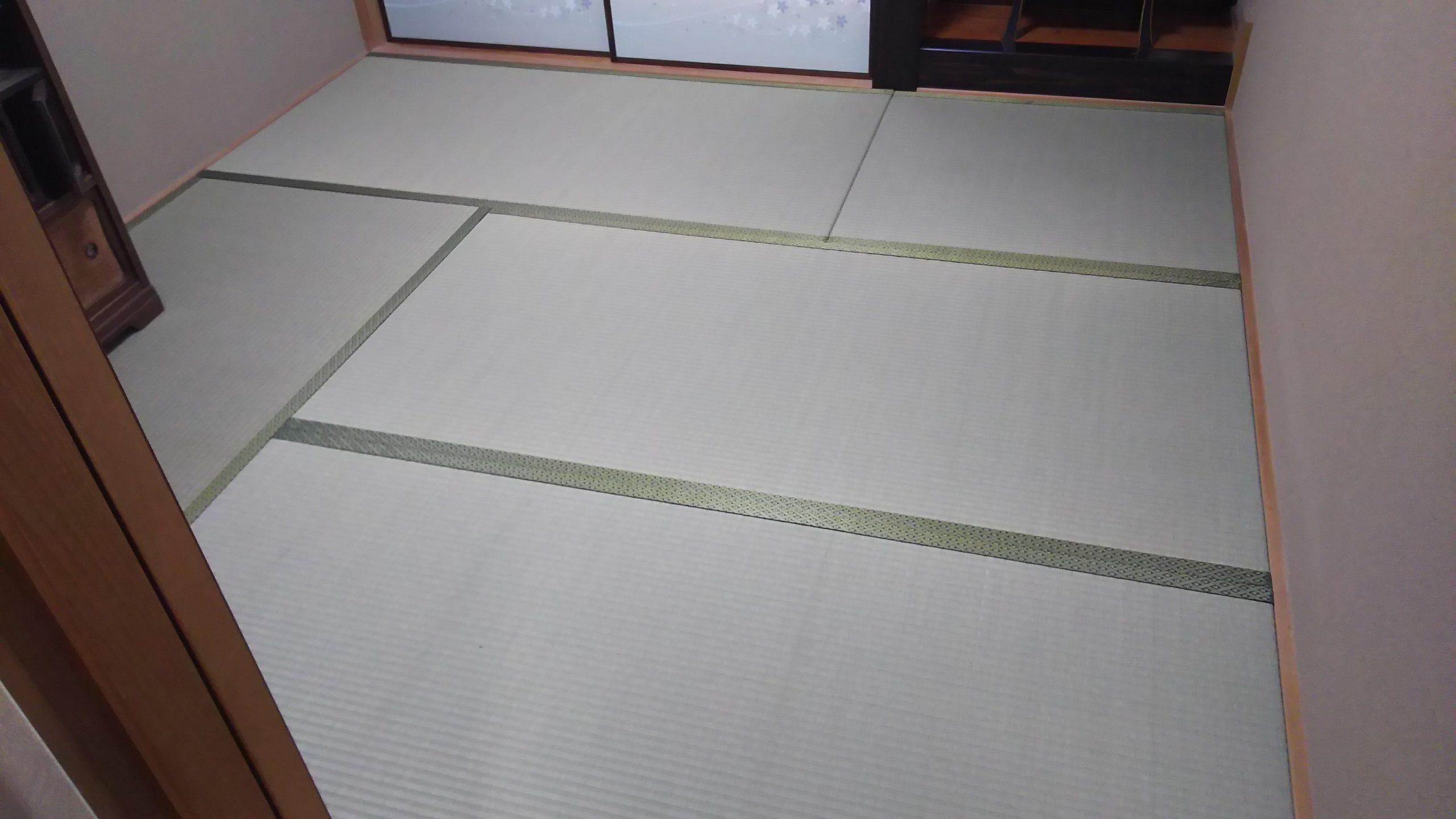 20210116 岸和田市 畳 襖 張替え