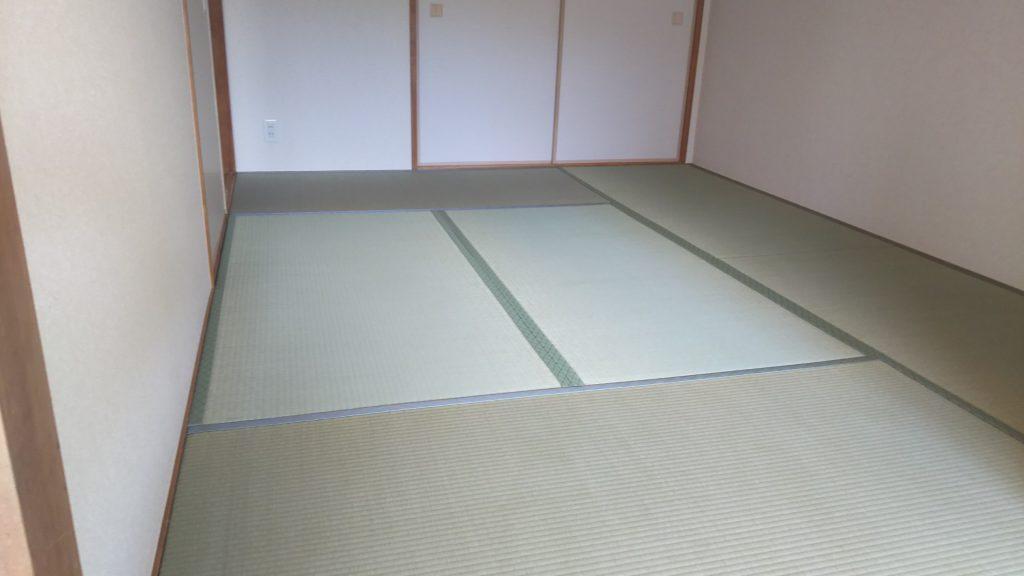 西宮市のマンションの畳の張替えをさせていただきました。