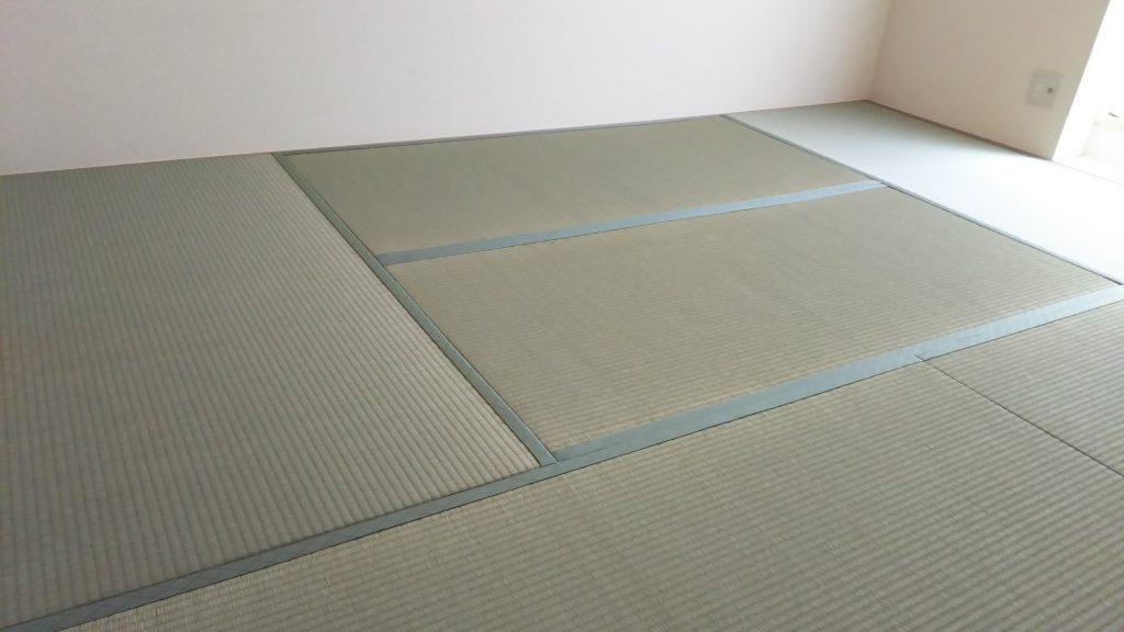 尼崎市のハイツの畳の張替えをさせていただきました。