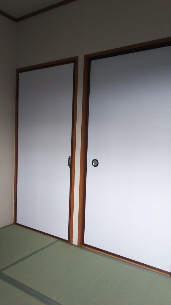 宝塚市のマンションの畳と襖の張替え