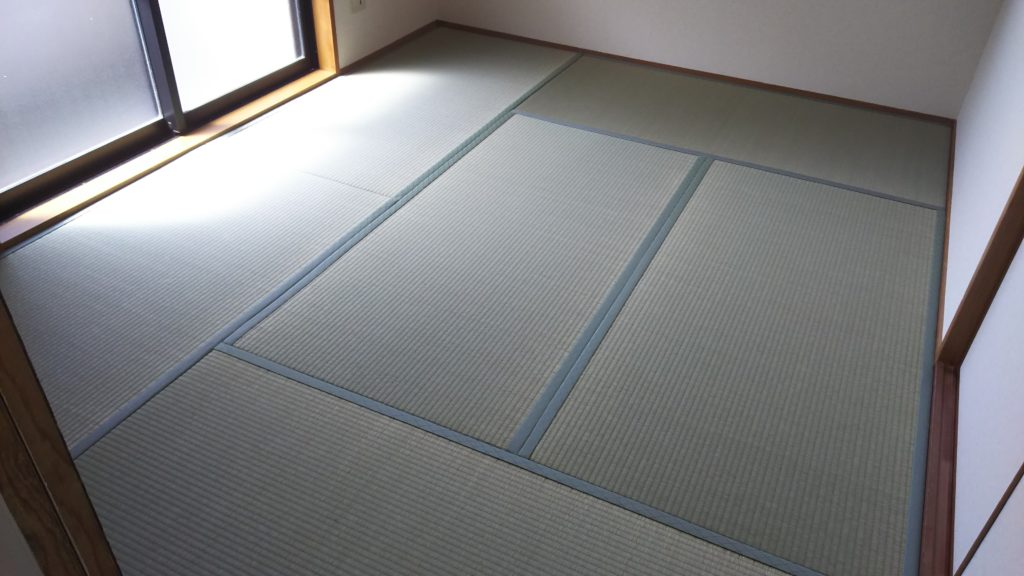 20210329西宮市のマンションに畳を納品しました。