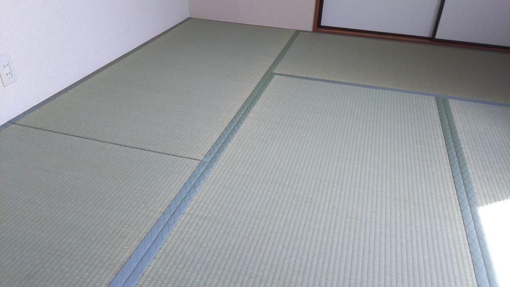 20210419宝塚市のハイツの畳と襖