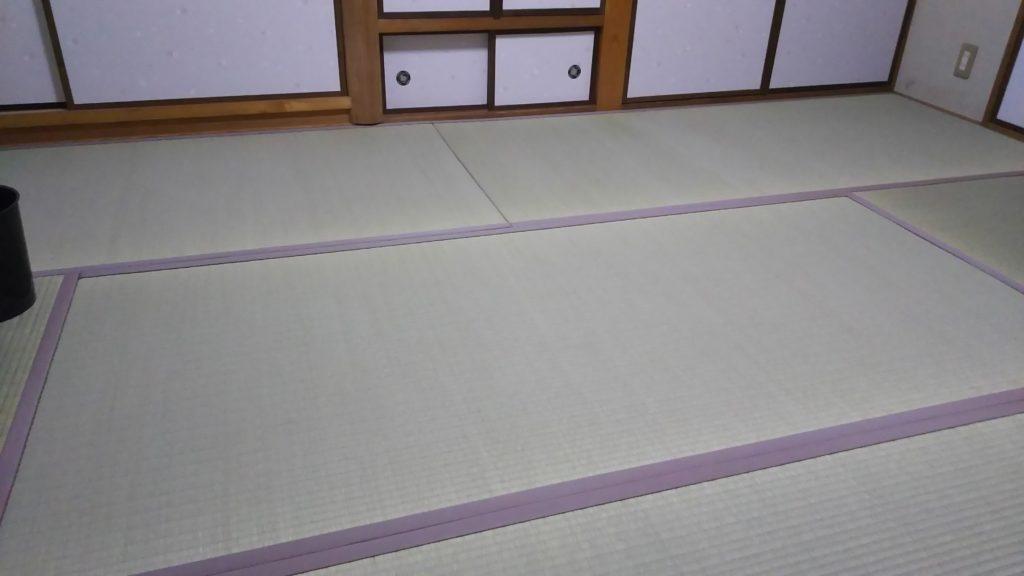 尼崎市の戸建のお客様に畳と襖と障子の納品をさせていただきました。