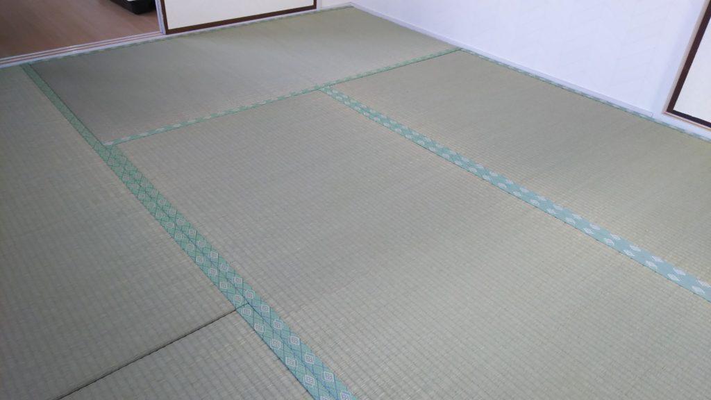 能勢町のマンションの畳の張替えをさせていただきました。