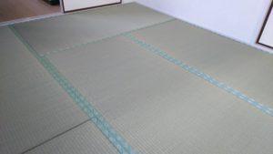 大阪市都島区のマンションの畳の張替えをさせていただきました。