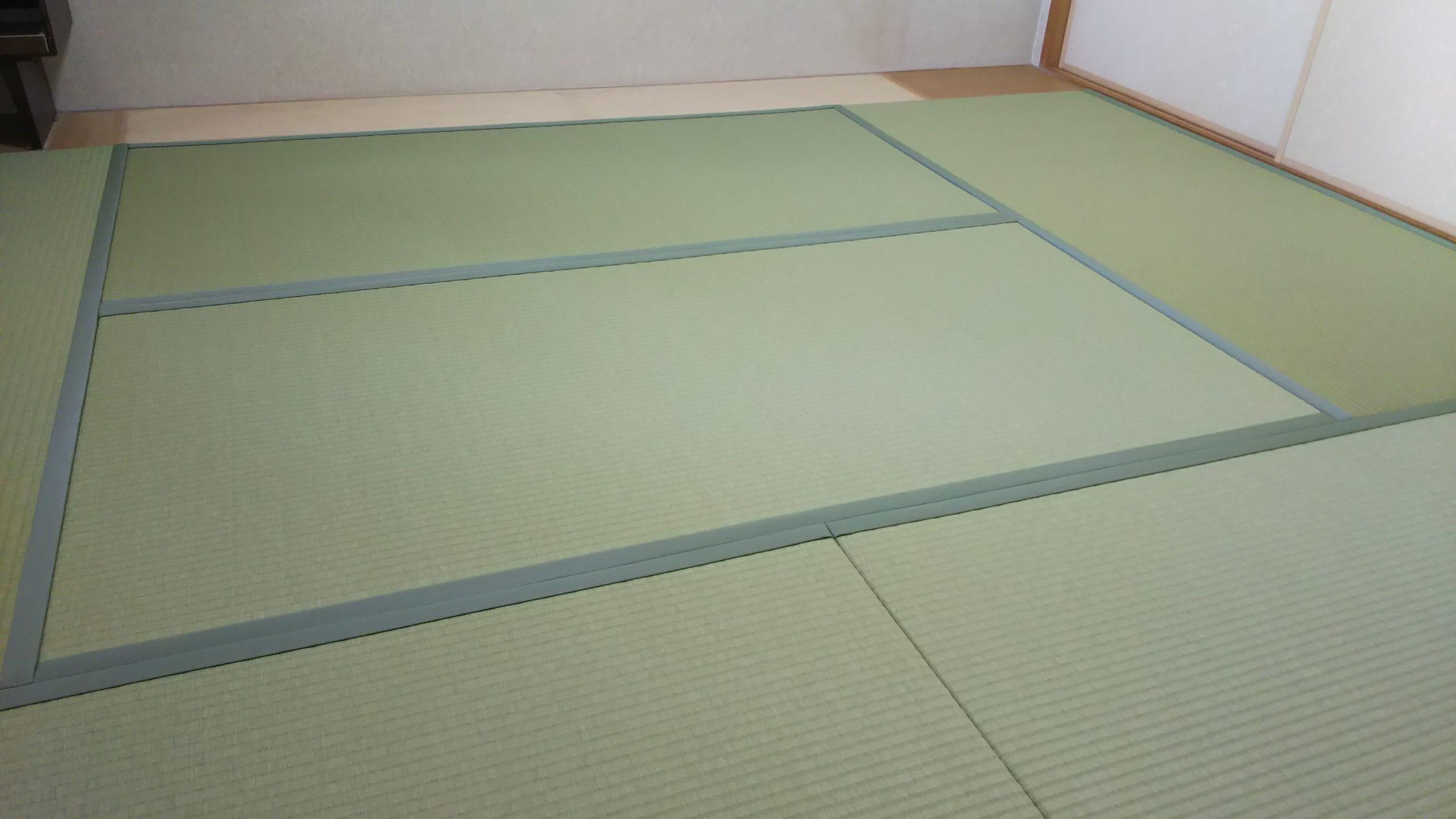 20210506尼崎市のマンションの畳を張替えました。