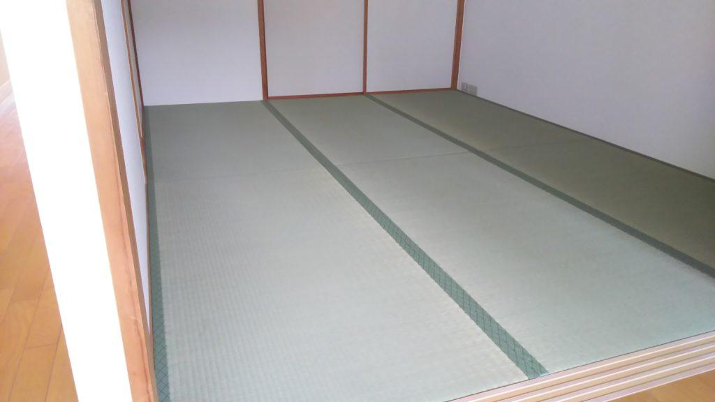 20210520豊中市のマンションの畳と襖を納品させていただきました。