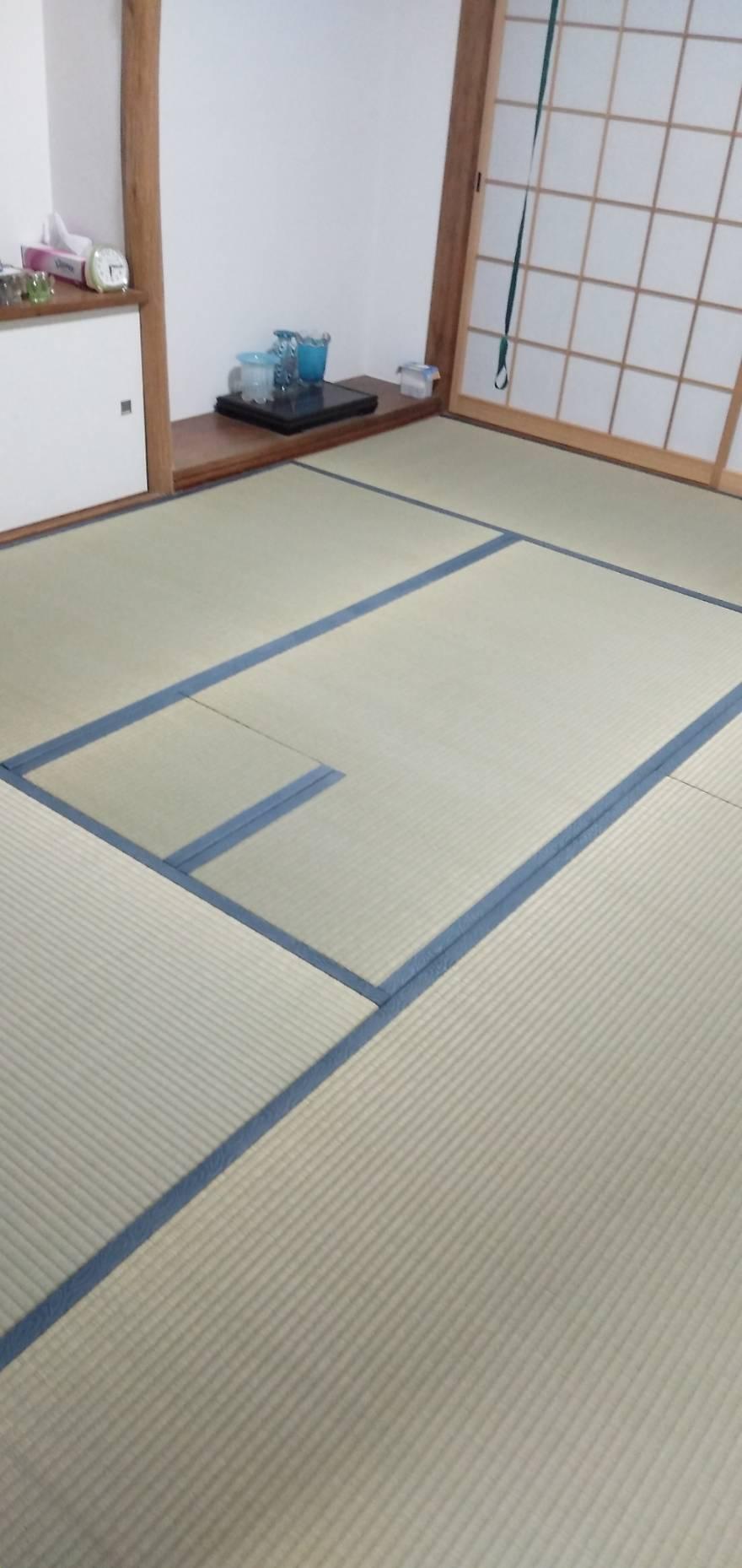 20210630宝塚市の戸建のお客様の畳の部屋を新調しました。