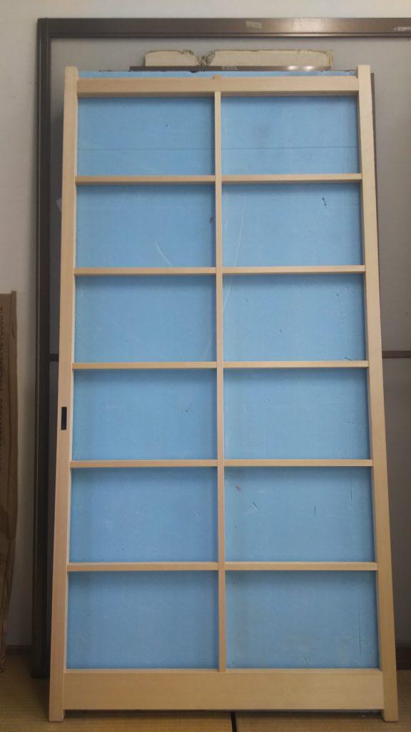 20210821アクリル板を挟み込むタイプの障子 木枠のみ