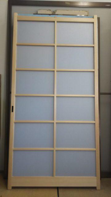 20210821アクリル板を挟み込むタイプの障子 全体